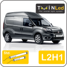"00-02-121.2 TwinLed Fiat Doblo cargo L2H1 12v. std. set <font size=""4"" color=""#5A5097"">TwinLed professional vehicle lighting</font>
