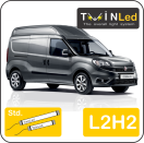 "00-02-122.2 TwinLed Fiat Doblo Cargo L2H2 12v. std. set <font size=""4"" color=""#5A5097"">TwinLed professional vehicle lighting</font>