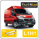 "00-02-211.2 TwinLed Fiat Ducato L1H1 12v. std. set <font size=""4"" color=""#5A5097"">TwinLed professional vehicle lighting</font>