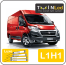 "00-02-211.4 TwinLed Fiat Ducato L1H1 12v. luxe set <font size=""4"" color=""#5A5097"">TwinLed professional vehicle lighting</font>