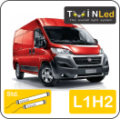 "00-02-212.2 TwinLed Fiat Ducato L1H2 12v. std. set <font size=""4"" color=""#5A5097"">TwinLed professional vehicle lighting</font>