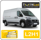 "00-02-221.4 TwinLed Fiat Ducato L2H1 12v. luxe set <font size=""4"" color=""#5A5097"">TwinLed professional vehicle lighting</font>