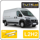 "00-02-222.2 TwinLed Fiat Ducato L2H2 12v. std. set <font size=""4"" color=""#5A5097"">TwinLed professional vehicle lighting</font>