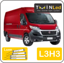 "00-02-233.4 TwinLed Fiat Ducato L3H3 12v. luxe set <font size=""4"" color=""#5A5097"">TwinLed professional vehicle lighting</font>