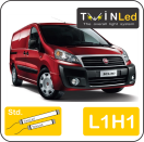 "00-02-411.2 TwinLed Fiat Scudo cargo L1H1 12v. std. set <font size=""4"" color=""#5A5097"">TwinLed professional vehicle lighting</font>