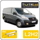 "00-02-422.2 TwinLed Fiat Scudo cargo L2H2 12v. std. set <font size=""4"" color=""#5A5097"">TwinLed professional vehicle lighting</font>