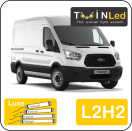 "00-03-122.4 TwinLed Ford Transit 2T L2H2 12v. luxe set <font size=""4"" color=""#5A5097"">TwinLed professional vehicle lighting</font>
