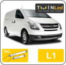 "00-04-111.2 TwinLed Hyundai H-1 L1 12v. std. set <font size=""4"" color=""#5A5097"">TwinLed professional vehicle lighting</font>