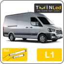 "00-04-211.2 TwinLed Hyundai H350 L1 12v. std. set <font size=""4"" color=""#5A5097"">TwinLed professional vehicle lighting</font>