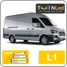 "00-04-211.4 TwinLed Hyundai H350 L1 12v. luxe set <font size=""4"" color=""#5A5097"">TwinLed professional vehicle lighting</font>