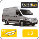 "00-04-221.2 TwinLed Hyundai H350 L2 12v. std. set <font size=""4"" color=""#5A5097"">TwinLed professional vehicle lighting</font>