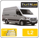 "00-04-221.4 TwinLed Hyundai H350 L2 12v. luxe set <font size=""4"" color=""#5A5097"">TwinLed professional vehicle lighting</font>