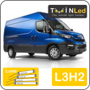 "00-05-132.4 TwinLed Iveco New Daily L3H2 12v. luxe set <font size=""4"" color=""#5A5097"">TwinLed professional vehicle lighting</font>