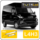 "00-05-143.2 TwinLed Iveco New Daily L4H3 12v. std. set <font size=""4"" color=""#5A5097"">TwinLed professional vehicle lighting</font>