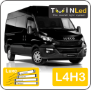 "00-05-143.4 TwinLed Iveco New Daily L4H3 12v. luxe set <font size=""4"" color=""#5A5097"">TwinLed professional vehicle lighting</font>