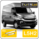"00-05-152.2 TwinLed Iveco New Daily L5H2 12v. std. set <font size=""4"" color=""#5A5097"">TwinLed professional vehicle lighting</font>
