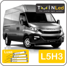 "00-05-153.4 TwinLed Iveco New Daily L4H3 12v. luxe set <font size=""4"" color=""#5A5097"">TwinLed professional vehicle lighting</font>