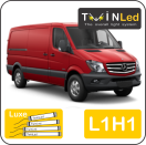 "00-06-211.4 TwinLed Mercedes Sprinter L1H1 12v. luxe set <font size=""4"" color=""#5A5097"">TwinLed professional vehicle lighting</font>