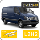 "00-06-222.2 TwinLed Mercedes Sprinter L2H2 12v. std. set <font size=""4"" color=""#5A5097"">TwinLed professional vehicle lighting</font>