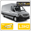 "00-06-232.2 TwinLed Mercedes Sprinter L3H2 12v. std. set <font size=""4"" color=""#5A5097"">TwinLed professional vehicle lighting</font>