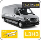 "00-06-233.2 TwinLed Mercedes Sprinter L3H3 12v. std. set <font size=""4"" color=""#5A5097"">TwinLed professional vehicle lighting</font>