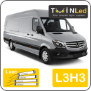 "00-06-233.4 TwinLed Mercedes Sprinter L3H3 12v. luxe set <font size=""4"" color=""#5A5097"">TwinLed professional vehicle lighting</font>