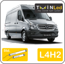 "00-06-242.2 TwinLed Mercedes Sprinter L4H2 12v. std. set <font size=""4"" color=""#5A5097"">TwinLed professional vehicle lighting</font>