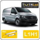 "00-06-311.2 TwinLed Mercedes Vito L1H1 12v. std. set <font size=""4"" color=""#5A5097"">TwinLed professional vehicle lighting</font>
