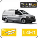 "00-06-341.2 TwinLed Mercedes Vito L4H1 12v. std. set <font size=""4"" color=""#5A5097"">TwinLed professional vehicle lighting</font>