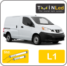 "00-07-111.2 TwinLed Nissan NV200 L1 12v. std. set <font size=""4"" color=""#5A5097"">TwinLed professional vehicle lighting</font>