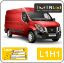 "00-07-211.4 TwinLed Nissan NV400 L1H1 12v. luxe set <font size=""4"" color=""#5A5097"">TwinLed professional vehicle lighting</font>