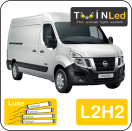 "00-07-222.4 TwinLed Nissan NV400 L2H2 12v. luxe set <font size=""4"" color=""#5A5097"">TwinLed professional vehicle lighting</font>