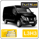 "00-07-233.4 TwinLed Nissan NV400 L3H3 12v. luxe set <font size=""4"" color=""#5A5097"">TwinLed professional vehicle lighting</font>