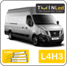 "00-07-243.4 TwinLed Nissan NV400 L4H3 12v. luxe set <font size=""4"" color=""#5A5097"">TwinLed professional vehicle lighting</font>