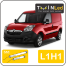 "00-08-111.2 TwinLed Opel Combo cargo L1H1 12v. std. set <font size=""4"" color=""#5A5097"">TwinLed professional vehicle lighting</font>