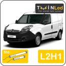 "00-08-121.2 TwinLed Opel Combo cargo L2H1 12v. std. set <font size=""4"" color=""#5A5097"">TwinLed professional vehicle lighting</font>