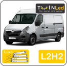 "00-08-222.4 TwinLed Opel Movano L2H2 12v. luxe set <font size=""4"" color=""#5A5097"">TwinLed professional vehicle lighting</font>