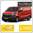 "00-08-312.2 TwinLed Opel Vivaro L1H2 12v. std. set <font size=""4"" color=""#5A5097"">TwinLed professional vehicle lighting</font>
