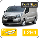 "00-08-321.2 TwinLed Opel Vivaro L2H1 12v. std. set <font size=""4"" color=""#5A5097"">TwinLed professional vehicle lighting</font>