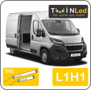 "00-09-211.2 TwinLed Peugeot Boxer L1H1 12v. std. set <font size=""4"" color=""#5A5097"">TwinLed professional vehicle lighting</font>
