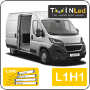 "00-09-211.4 TwinLed Peugeot Boxer L1H1 12v. luxe set <font size=""4"" color=""#5A5097"">TwinLed professional vehicle lighting</font>