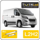 "00-09-222.2 TwinLed Peugeot Boxer L2H2 12v. std. set <font size=""4"" color=""#5A5097"">TwinLed professional vehicle lighting</font>