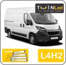 "00-09-242.4 TwinLed Peugeot Boxer L4H2 12v. luxe set <font size=""4"" color=""#5A5097"">TwinLed professional vehicle lighting</font>