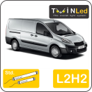 "00-09-322.2 TwinLed Peugeot Expert L2H2 12v. std. set <font size=""4"" color=""#5A5097"">TwinLed professional vehicle lighting</font>
