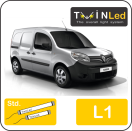 "00-10-111.2 TwinLed Renault Kangoo L1 12v. std. set <font size=""4"" color=""#5A5097"">TwinLed professional vehicle lighting</font>