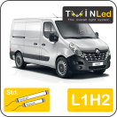 "00-10-212.2 TwinLed Renault Master L1H2 12v. std. set <font size=""4"" color=""#5A5097"">TwinLed professional vehicle lighting</font>