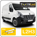 "00-10-223.2 TwinLed Renault Master L2H3 12v. std. set <font size=""4"" color=""#5A5097"">TwinLed professional vehicle lighting</font>