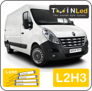 "00-10-223.4 TwinLed Renault Master L2H3 12v. luxe set <font size=""4"" color=""#5A5097"">TwinLed professional vehicle lighting</font>