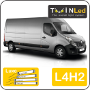 "00-10-242.4 TwinLed Renault Master L4H2 12v. luxe set <font size=""4"" color=""#5A5097"">TwinLed professional vehicle lighting</font>