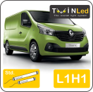 "00-10-311.2 TwinLed Renault Trafic L1H1 12v. std. set <font size=""4"" color=""#5A5097"">TwinLed professional vehicle lighting</font>